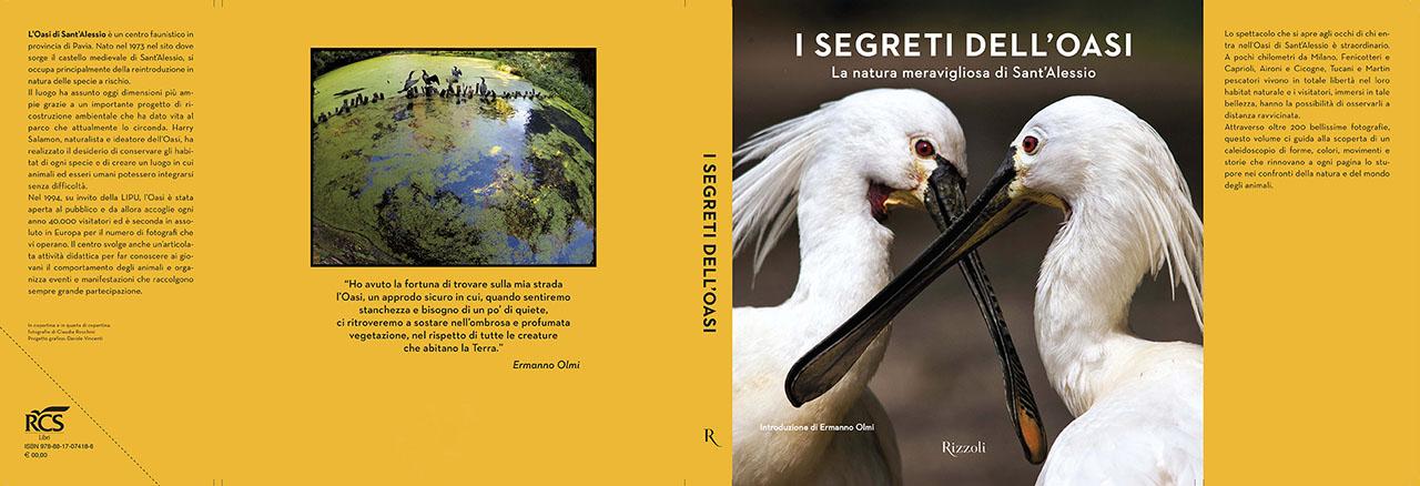 Il libro è disponibile dal 28 maggio in libreria, online e presso l'Oasi